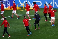 Salah left out of Egypt's starting 11 against Uruguay in World Cup opener