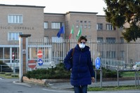 مستشفى بمنطقة فينيتو شمالي إيطاليا حيث ظهرت أولى الإصابات الفرنسية