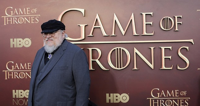 Co-executive producer George R.R. Martin arrives for the season premiere of HBO's Game of Thrones in San Francisco, California March 23, 2015. (Reuters Photo)