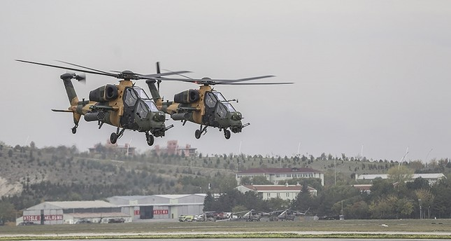 باكستان تشتري 30 مروحية مقاتلة تركية من طراز أتاك تي 129