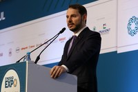 Turkey heads for record current account surplus in October, Albayrak says