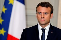 French President Emmanuel Macron called the violence and oppression against Rohingya Muslims in Buddhist-majority Myanmar a