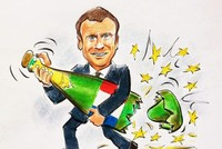 Emmanuel Macron agitates and destabilizes Europe