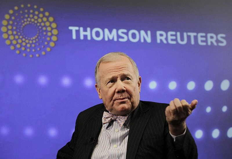 Jim Rogers, chairman of Rogers Holdings, speaks at the Reuters Investment Outlook Summit in New York December 7, 2010. (Reuters Photo)