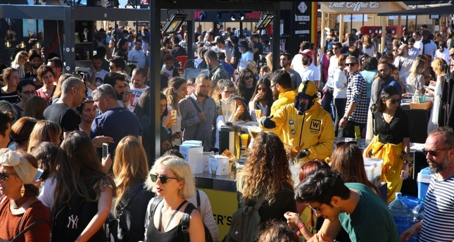 Coming to town for the fifth time, the Istanbul Coffee Festival lured thousands of coffee lovers last year.