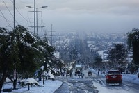 Rare snowfall leaves one dead, 250,000 homes without power in Chile's Santiago