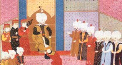 'May God be with the sultan' – Succession ceremonies in the Ottoman Empire