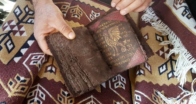 Hebrew manuscript recovered from smugglers in central Turkey