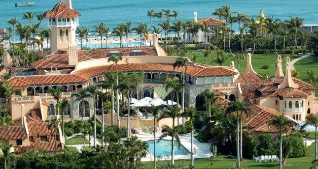 Aerial view of Mar-a-Lago, the oceanfront estate of Donald Trump in Palm Beach, Fla. Photo by John Roca/NY Daily News Archive via Getty Images