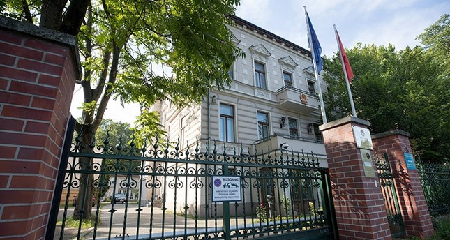 The embassy of the Socialistic Republic of Vietnam in Berlin, Germany, 02 August 2017. (EPA Photo)