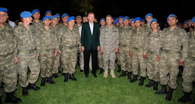 أردوغان: لا توجد قوة قادرة على الوقوف في وجه الجنود الأتراك