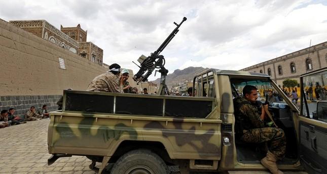 مقاتلون من جماعة الحوثي المدعومة إيرانياً في اليمن ديلي صباح