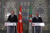 أردوغان يبحث مع نظيره الجزائري الوضع في تونس