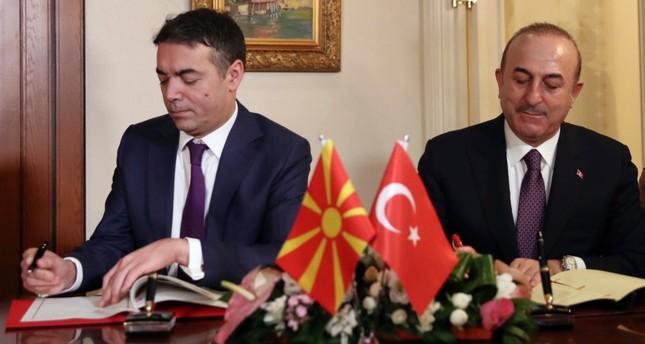 Ankara supports Macedonia in name dispute