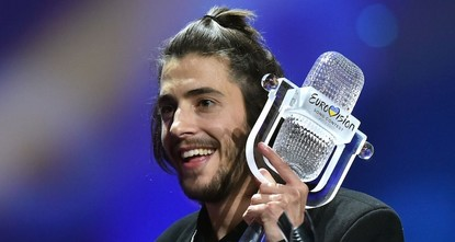 pPortuguese citizens celebrated the country's first-ever Eurovision song contest victory Sunday, praising Salvador Sobral for his winning performance of a melancholy ballad./p