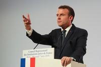 Der französische Präsident Emmanuel Macron hat seinen US-Kollegen Donald Trump vor einem