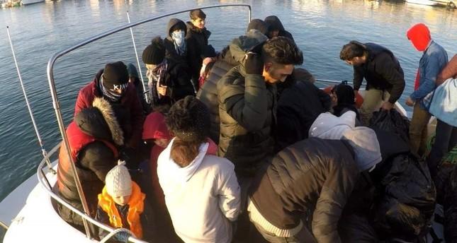 Turkey holds 110 irregular migrants across country