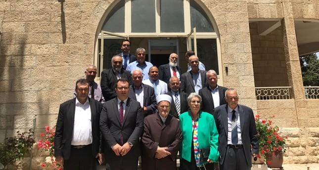 وفد من أعيان ووجهاء القدس يهنئون بفوز رجب طيب أردوغان بالانتخابات الرئاسية التركية