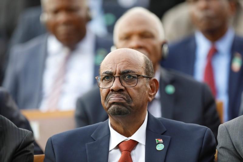 Sudan's President Omar al-Bashir attends a ceremony for Erdoğan, in Ankara, Turkey, Monday, July 9, 2018. (AP photo