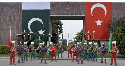 pA Turkish military band won the hearts of millions of Pakistanis when it played Jeeway Jeeway (Long Live) Pakistan tune during a parade to mark the country's republic day in the capital Islamabad...