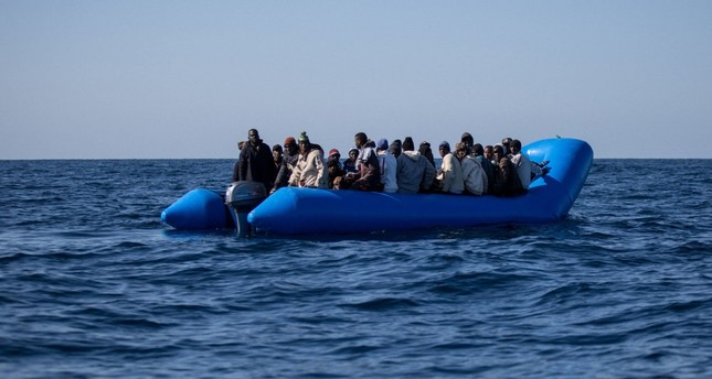 African migrants flee poverty and war, desperately trying to reach European shores by boat.