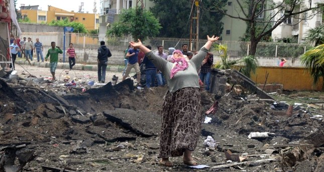 Döne Kuvvet became a symbol of grief for the Reyhanlı victims when a photo showing her with her hands stretched to the sky in sorrow while standing in a crater blast created made headlines. Kuvvet's daughter & granddaughter were killed in the blasts.