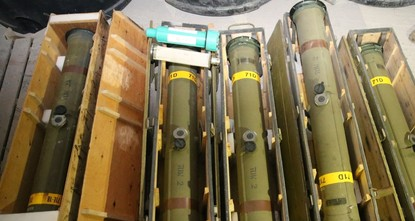 Turkish troops capture US weapons given to YPG