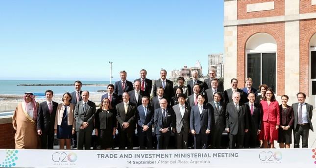 تركيا تشارك في اجتماع وزاري لمجموعة العشرين