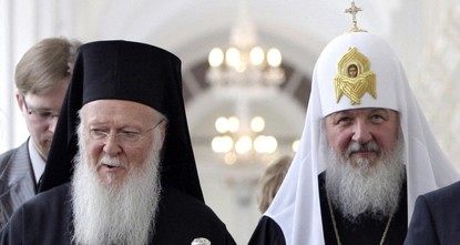 Moscow says would sever ties with Patriarch Bartholomew if Ukraine church granted autonomy