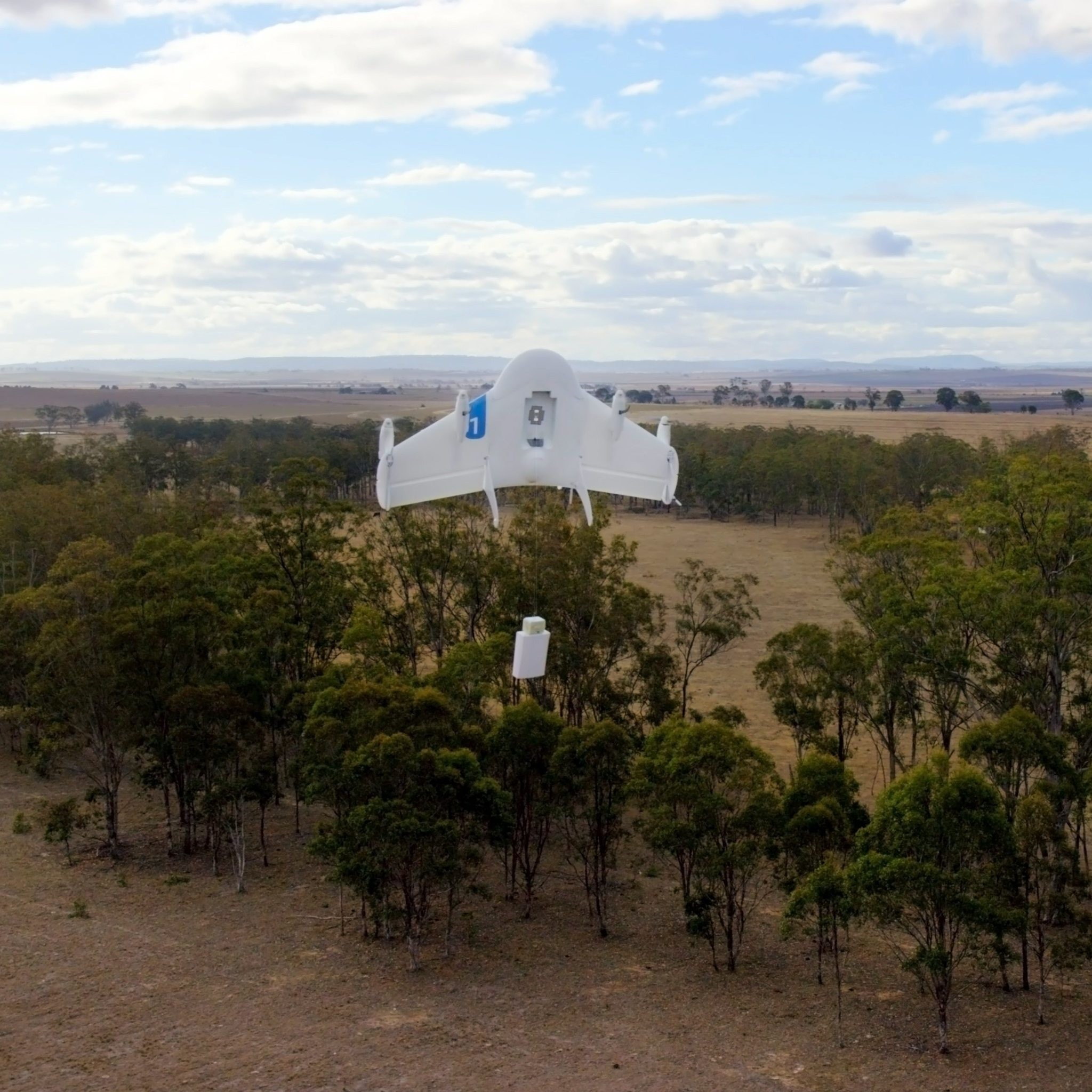 The drones, which drop boxed packs of blood slowly to the earth via a paper parachute, now deliver 20 percent of the blood supply outside the Rwandan capital Kigali.