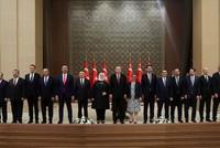 Präsident Erdoğan stellt sein neues Kabinett vor