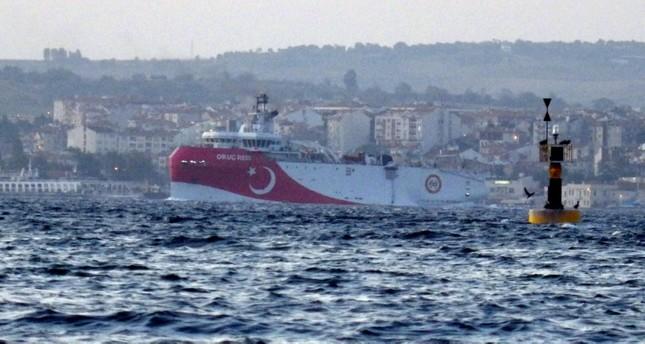 السفينة التركية الرابعة للتنقيب عن النفط والغاز شرقي المتوسط أوروتش ريس