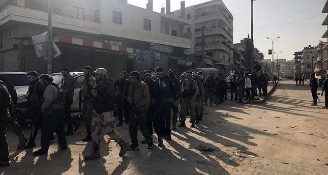 Freie Syrische Armee nimmt Afrin ein