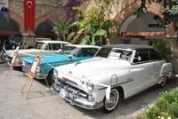 Rare vintage cars, motorbikes, stoves attract visitors in Kuşadası, western Turkey