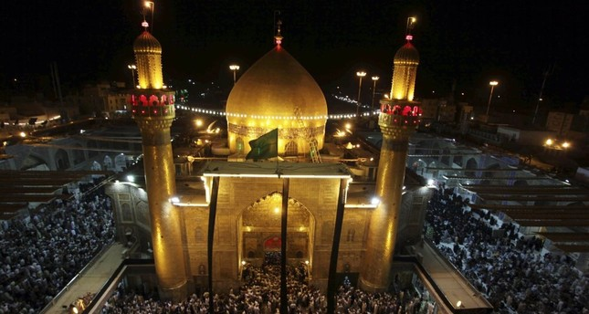 Shrine of Imam Ali - Najaf, Iraq.