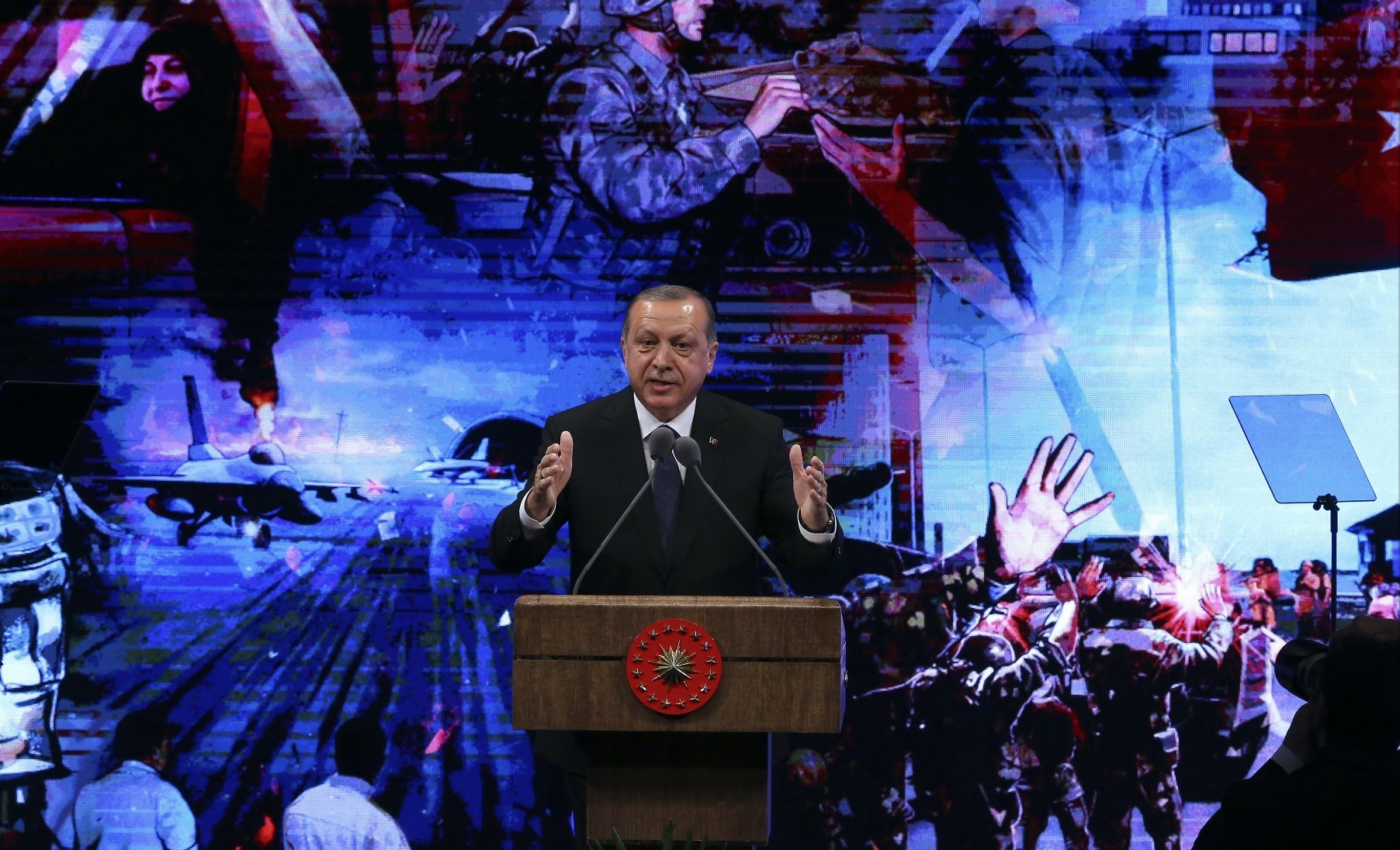 Erdou011fan said the West takes a stance against Turkey when it comes to freedoms after some ministers were banned from attending July 15 events across Europe.