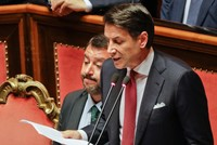 PM Conte says will resign, blames Salvini for Italy's government crisis