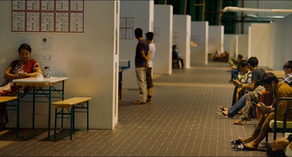 The documentary gives a rare insight into the day-to-day existence of a refugee in a camp.