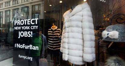 New York City mulls banning sale of fur