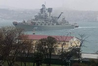 Traffic slumps over Bosporus Strait as Istanbul hit by poor weather