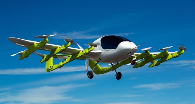 Zephyr Airworks in New Zealand shows a 'Cora' electric-powered air taxi in flight. Self-piloted flying taxis are tested in New Zealand as part of a project backed by Google co-founder Page that supporters say will revolutionize personal transport.