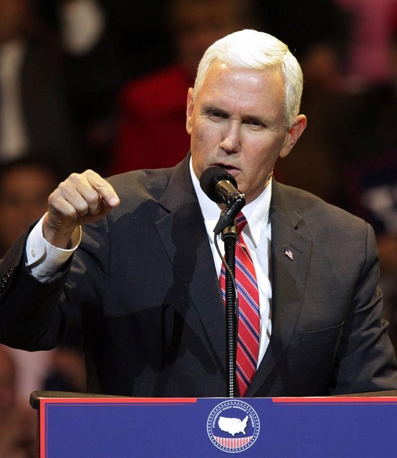 U.S. Vice President-elect Mike Pence. Dec. 1, 2016. (Reuters Photo)