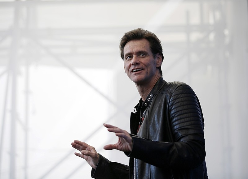 In this Sept. 5, 2017 file photo, actor Jim Carrey poses for photographers during the photo call of the film ,Jim & Andy: The Great Beyond (AP File Photo)