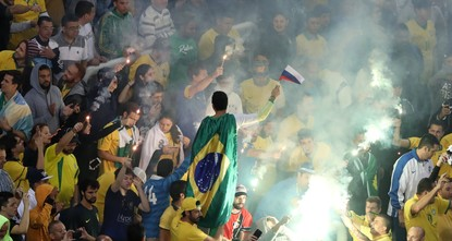 pLess than three years after the most humiliating loss in its proud football history, a resurgent Brazil has become the first team to qualify for the World Cup in Russia./p  pWith a convincing...