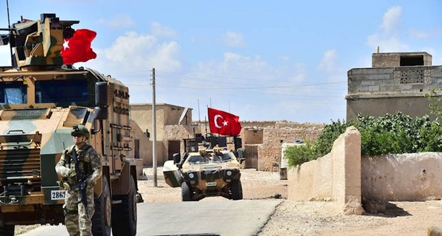 الجيش التركي ينهي دوريته الثامنة في منبج السورية