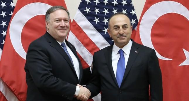 مكالمة هاتفية بين وزير الخارجية التركي ونظيره الأمريكي