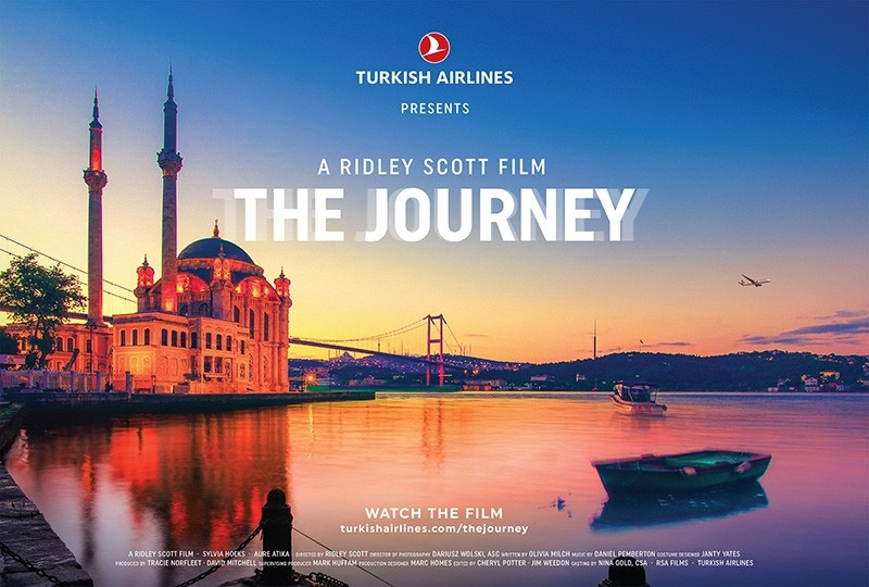 IHA image from Turkish Airlines' short film ,The Journey,