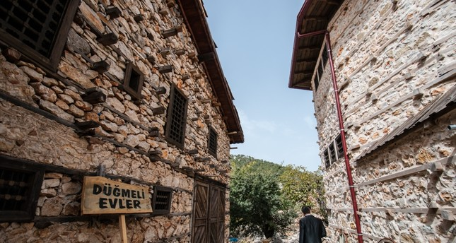 Button houses a popular touristic destination in Antalya