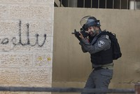 Israeli security forces raided multiple Palestinian media offices across the West Bank and arrested two Palestinian suspects in a mass sweep early Wednesday.  An army spokeswoman said that media...