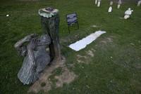 Srebrenica war victims statue vandalized in Sarajevo